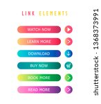 multi colored link elements are ... | Shutterstock .eps vector #1368373991