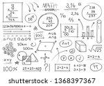 hand drawing mathematical...
