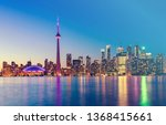 Toronto City Skyline In Canada