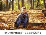 Toddler Boy Smiling During...