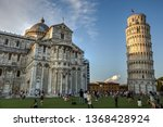 pisa italy july 22  2015  a... | Shutterstock . vector #1368428924