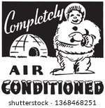 completely air conditioned  ... | Shutterstock .eps vector #1368468251