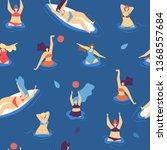 summer recreation leisure... | Shutterstock .eps vector #1368557684