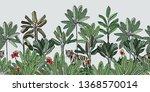 high end seamless border hand... | Shutterstock .eps vector #1368570014