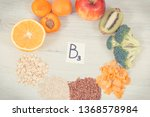 inscription b3 and nutritious... | Shutterstock . vector #1368578984