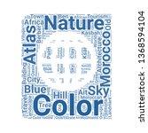 atlas word cloud. tag cloud...   Shutterstock .eps vector #1368594104