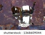 ss waverly ship wreck near... | Shutterstock . vector #1368609044