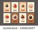 templates with different kinds... | Shutterstock .eps vector #1368623657