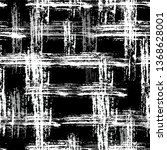 scratched black and white... | Shutterstock .eps vector #1368628001