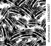 seamless pattern with scratched ...   Shutterstock .eps vector #1368628007