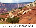 capitol reef national park in... | Shutterstock . vector #1368639434