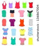 Set Of Female Summer T Shirts...