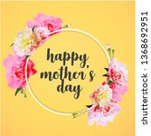 happy mother's day greeting... | Shutterstock .eps vector #1368692951