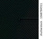 dark green vector background... | Shutterstock .eps vector #1368784511