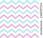 cheron seamless pattern. pink...   Shutterstock .eps vector #1368787214