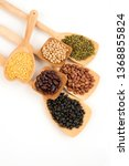 grains are nutritious on a... | Shutterstock . vector #1368855824