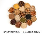 grains are nutritious on a... | Shutterstock . vector #1368855827