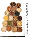 grains are nutritious on a... | Shutterstock . vector #1368855851