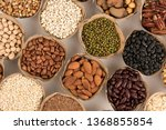grains are nutritious on a... | Shutterstock . vector #1368855854
