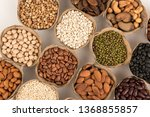 grains are nutritious on a... | Shutterstock . vector #1368855857