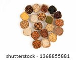 grains are nutritious on a... | Shutterstock . vector #1368855881