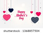 lovely mother's day greeting... | Shutterstock .eps vector #1368857504