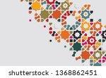 arabic arabesque design...   Shutterstock .eps vector #1368862451