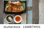 grilled chicken with chili... | Shutterstock . vector #1368874931