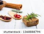 alternative therapy ... | Shutterstock . vector #1368888794
