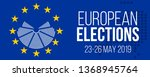european elections 23 26 may... | Shutterstock .eps vector #1368945764