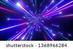 3d render  big bang  galaxy ... | Shutterstock . vector #1368966284