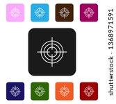 nine styles flat rectangle... | Shutterstock .eps vector #1368971591