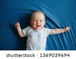 portrait of cute adorable... | Shutterstock . vector #1369039694