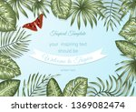vector frame template with... | Shutterstock .eps vector #1369082474