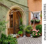 Old Doorway And Garden...