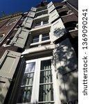 historic city with window... | Shutterstock . vector #1369090241