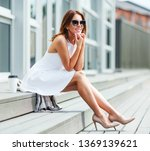 outdoors lifestyle fashion... | Shutterstock . vector #1369139621