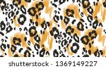 animal texture seamless... | Shutterstock .eps vector #1369149227