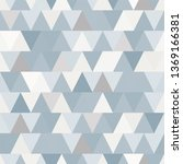 pattern of triangles. triangles.... | Shutterstock .eps vector #1369166381