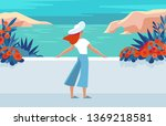 vector illustration in trendy... | Shutterstock .eps vector #1369218581