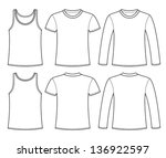 Free Long Sleeve T Shirt Vector Template - (20496 Free Downloads)