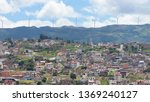 panoramic view of the city of... | Shutterstock . vector #1369240127