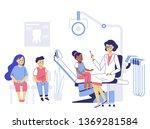 medicine dental concept.... | Shutterstock .eps vector #1369281584
