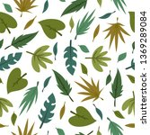 spring theme seamless pattern...   Shutterstock .eps vector #1369289084