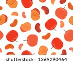 seamless pattern design with...   Shutterstock .eps vector #1369290464