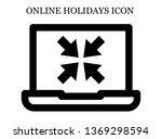 online minimize icon. editable...
