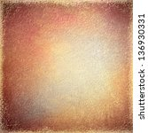 Abstract Brown Background Red...