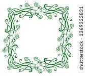 vector vintage celtic triskels... | Shutterstock .eps vector #1369322831