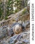 natural spherical boulders in... | Shutterstock . vector #1369332104