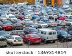 moscow  russia   april  13 ...   Shutterstock . vector #1369354814
